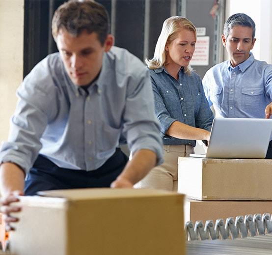 warehouse logistics staff