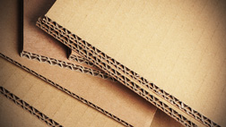 corrugated cardboard for shipping
