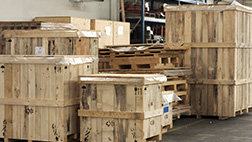 wood shipping dunnage